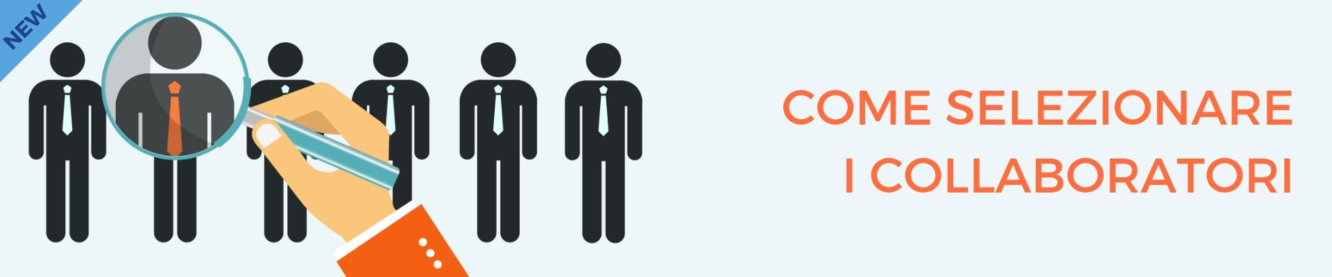 Come selezionare i collaboratori